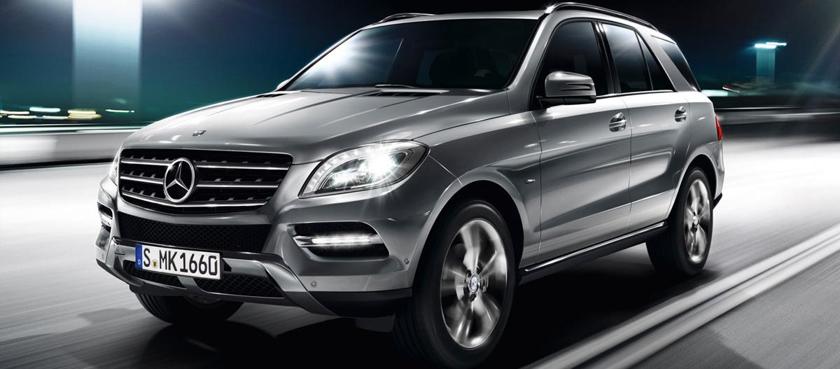Mercedes-Benz ML (Мерседес-Бенц МЛ)
