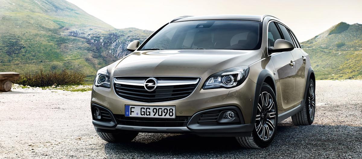 Opel Insignia Country Tourer (Опель Инсигния Кантри Тур)
