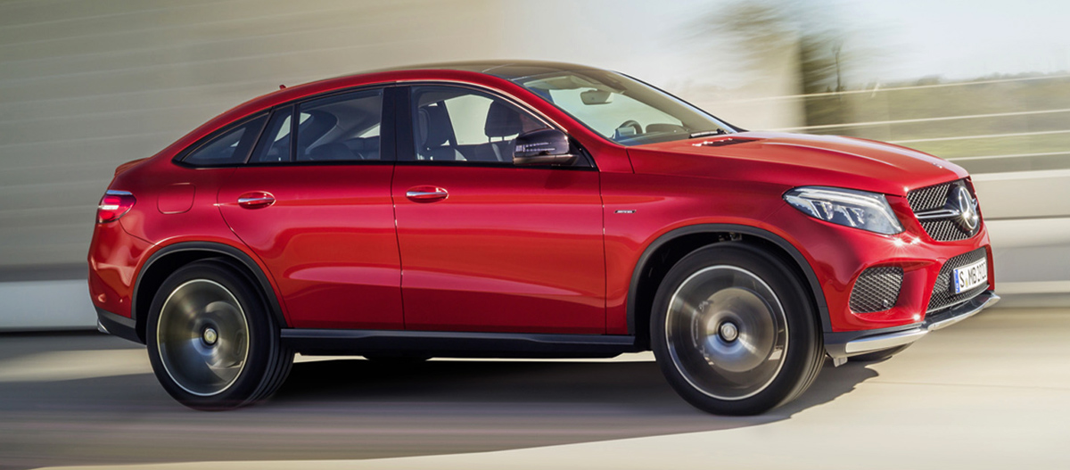 Mercedes-Benz GLE coupe (Мерседес-Бенц GLE купе)