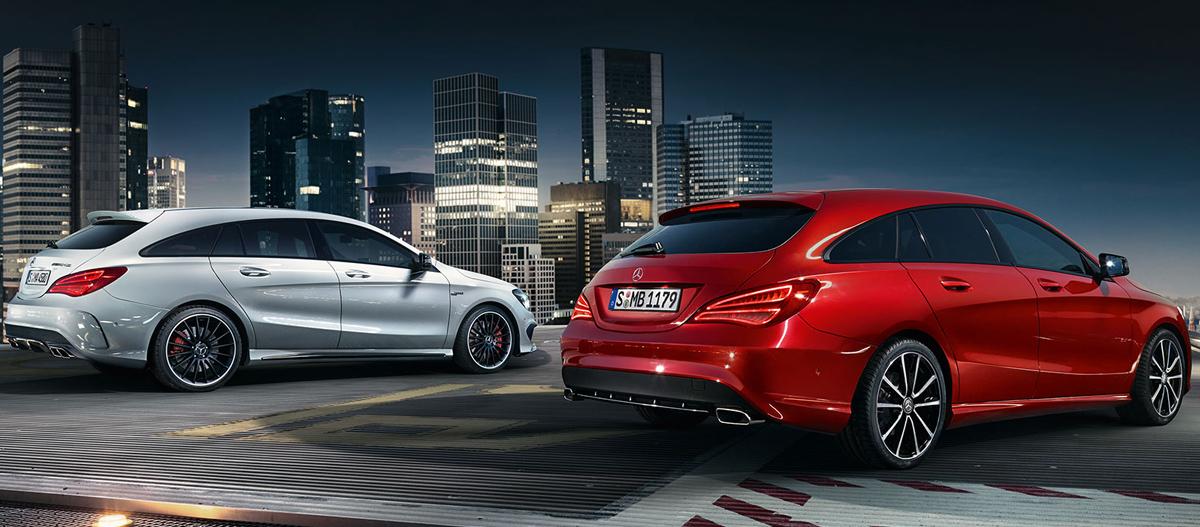 Mercedes-Benz CLA Shooting Brake (Мерседес-Бенц CLA Шутинг Брейк)